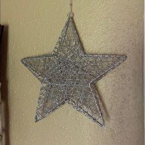 Glitter Star Wall Decoration